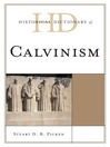 Historical Dictionary of Calvinism (eBook)